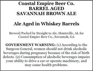 Coastal Empire Beer Company Barrel Aged Savannah