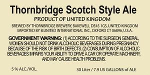 Thornbridge Scotch
