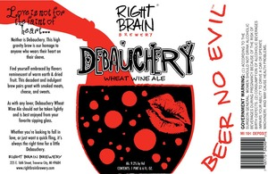 Right Brain Brewery Debauchery