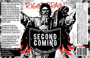 Right Brain Brewery The Second Coming
