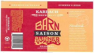 Karbach Brewing Co. Barn Burner