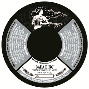 Coronado Brewing Company Bada Bing