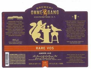 Rare Vos Amber Ale
