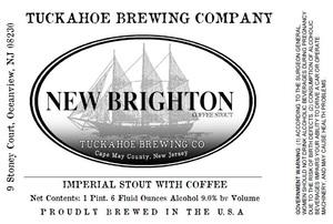 Tuckahoe Brewing Company New Brighton Coffee Stout