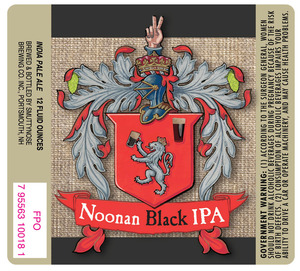 Smuttynose Brewing Co. Noonan Black IPA