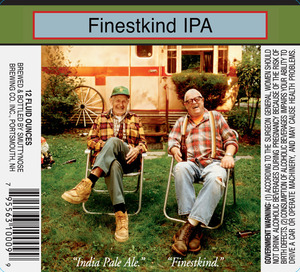 Smuttynose Brewing Co. Finestkind IPA