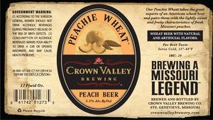 Crown Valley Brewing Peachie Wheat