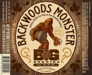 Big Muddy Brewing Backwoods Monster