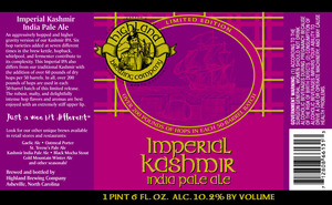 Highland Brewing Co Imperial Kashmir India Pale