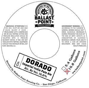 Ballast Point Brewing Company Dorado