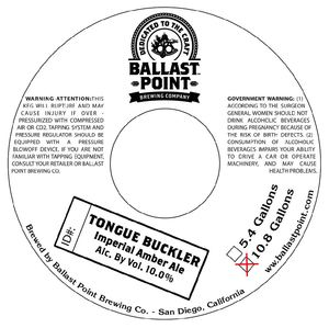 Ballast Point Brewing Company Tongue Buckler