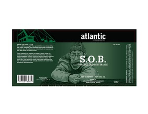 S.o.b. Special Old Bitter Ale