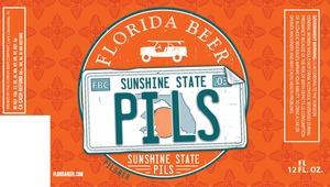 Floridda Beer Company Sunshine State Pils