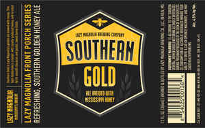 Lazy Magnolia Brewing Company Southern Gold