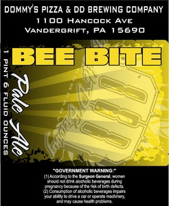 Bee Bite Pale Ale