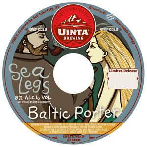 Uinta Brewing Company Sea Legs