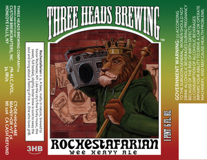 Three Heads Brewing Rochestafarian