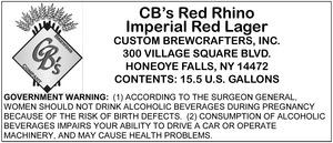 Cb's Red Rhino