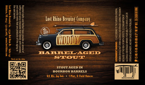 Lost Rhino Brewing Company Woody Barrel-aged Stout