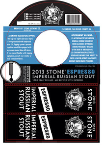 Stone Brewing Co Imperial Russian Stout