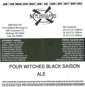 New Holland Brewing Co. Four Witches