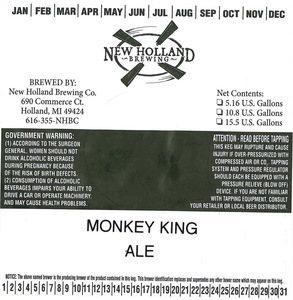 New Holland Brewing Co. Monkey King