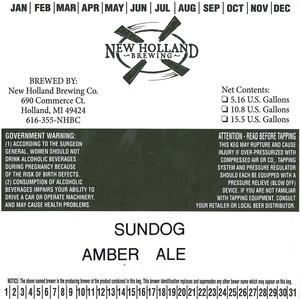 New Holland Brewing Co. Sundog