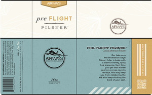 Pre Flight Pilsner
