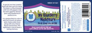 My Blueberry Nightmare Verdi Stout Con Mirtilli
