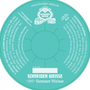 Schneider Weisse - Sommer Weisse