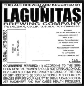 The Lagunitas Brewing Company Fusion 16