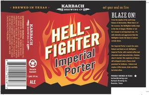Karbach Brewing Co. Hellfighter Imperial