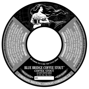 Coronado Brewing Company Blue Bridge Coffee Stout