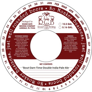 'bout Dam Time Double India Pale Ale