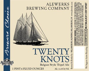 Alewerks Twenty Knots
