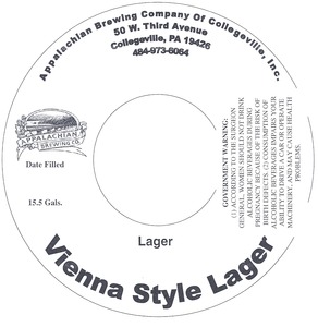 Appalachian Brewing Co Vienna Style