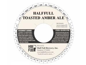 Half Full Toasted Amber Ale
