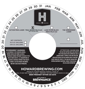 Howard Brewing Trail Maker Pale Ale