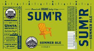 Uinta Brewing Company Sum'r