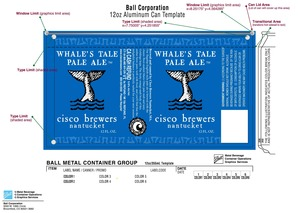 Cisco Brewers Whale Tale Pale