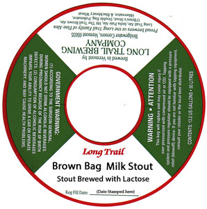 Long Trail Brown Bag Milk Stout
