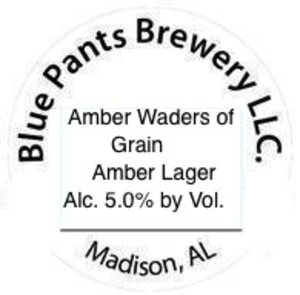 Blue Pants Brewery Amber Waders Of Grain