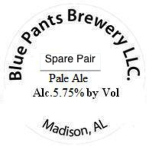 Blue Pants Brewery Spare Pair