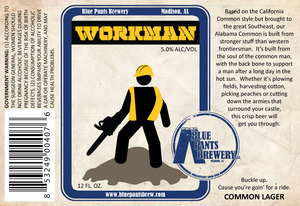Blue Pants Brewery Workman