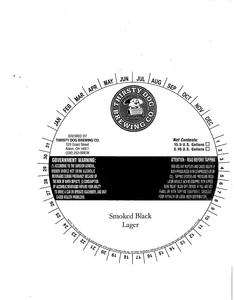 Thirsty Dog Brewing Co. Smoked Black Lager
