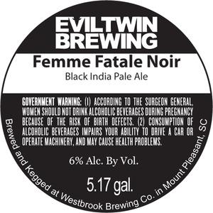 Evil Twin Brewing Femme Fatale Noir