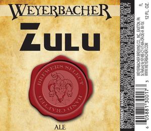 Weyerbacher Zulu