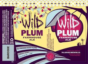 Tallgrass Brewing Co. Wild Plum Farmhouse