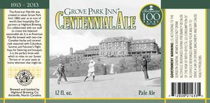 Highland Brewing Co Grove Park Inn Centennial