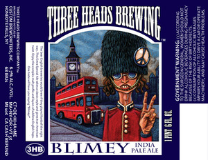 Three Heads Brewing Blimey